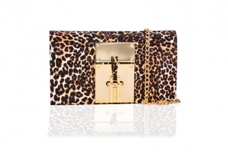 Clutch Mihai Albu Animal Print0