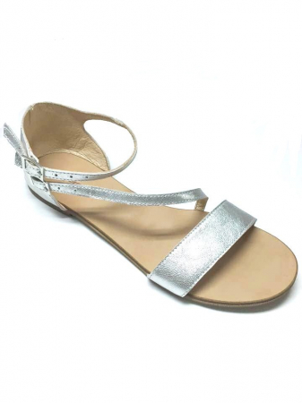 Sandale dama din piele Silver Anna0