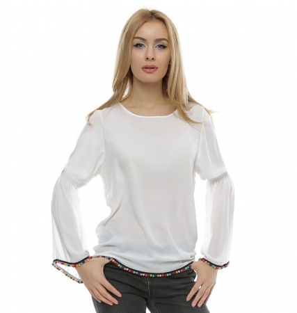 Bluza cu maneca clopot B96, XL0