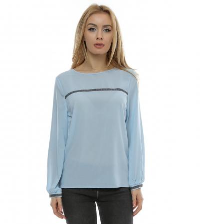 Bluza cu aplicatie multicolora B970