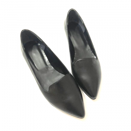 Loafers dama din piele naturala Black Merry2