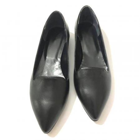 Loafers dama din piele naturala Black Merry3