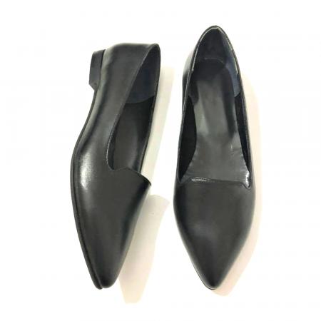 Loafers dama din piele naturala Black Merry1