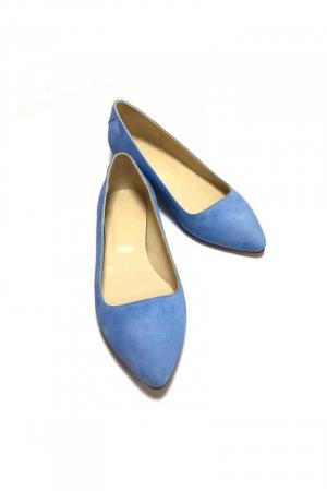 Balerini din piele Blue Velvet CoraN1