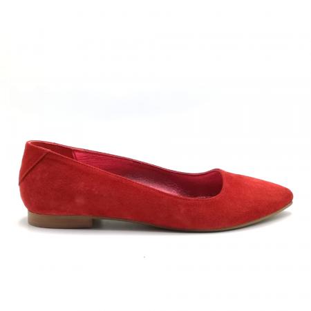 Balerini Piele Intoarsa Red Cora, 37 si 380