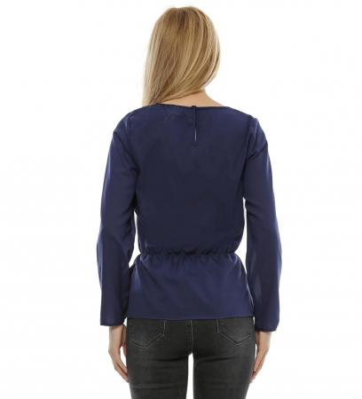 Bluza cu aplicatie fluture brodat B992