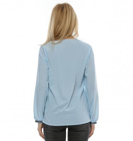 Bluza cu aplicatie multicolora B972