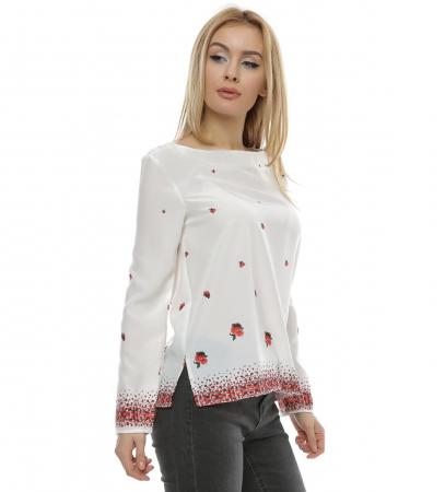 Bluza cu imprimeu floral B1021