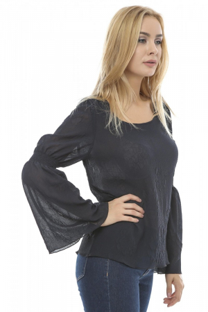 Bluza dama cu maneci evazate B921