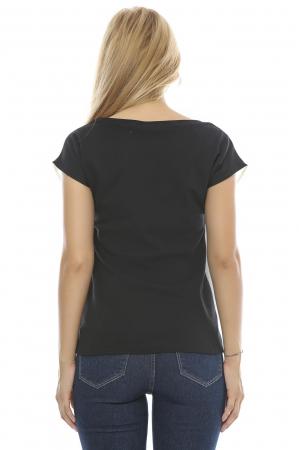 Bluza dama cu model imprimat fluturi B892