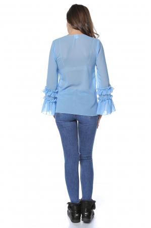 Bluza dama din vascoza Blue B1242