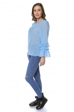 Bluza dama din vascoza Blue B1241
