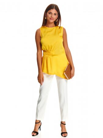 Bluza office fara maneci Yellow Dream [3]
