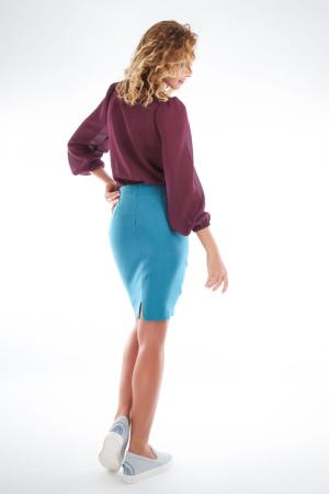 Bluza violet cu guler funda1