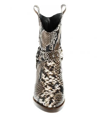Ciocate dama din piele naturala snake Chantal2