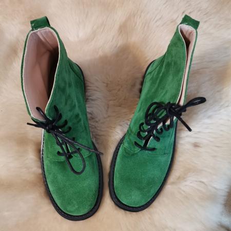 Ghete dama din piele Green Irenne, 351