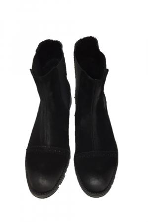 Ghete din piele Dana Black Vintage0