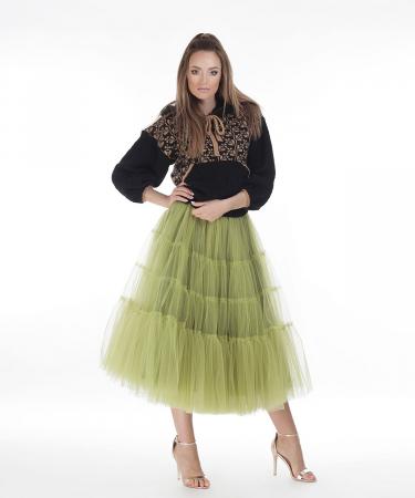 Hanorac dama negru tricotat cu motive romanesti0