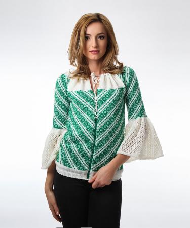 IE tricotata cu maneci clopot Onibon0