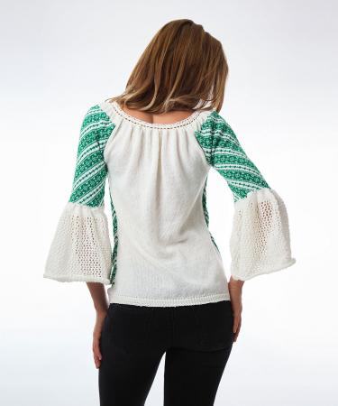 IE tricotata cu maneci clopot Onibon1