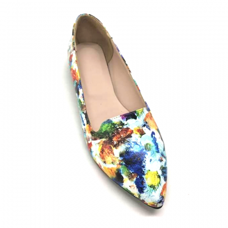 Loafers dama din piele naturala Painted Merry0