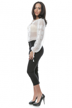 Pantaloni tip tigareta pentru femei2