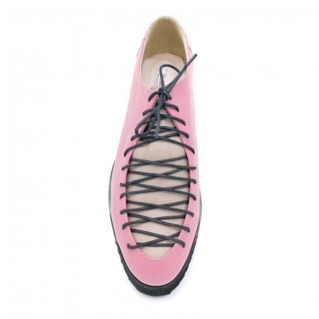 Pantofi dama tip Oxford Pink Laces3