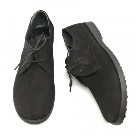 Pantofi din piele intoarsa Pax negri3