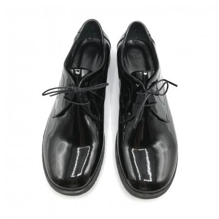 Pantofi din piele lacuita Pax negri4