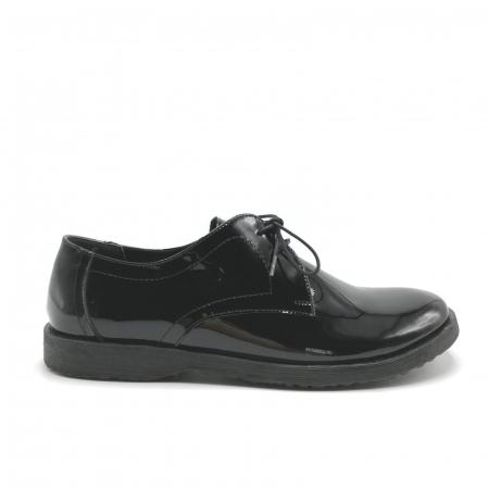 Pantofi din piele lacuita Pax negri0
