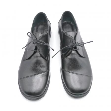 Pantofi din piele Oxford Kika Black, 393
