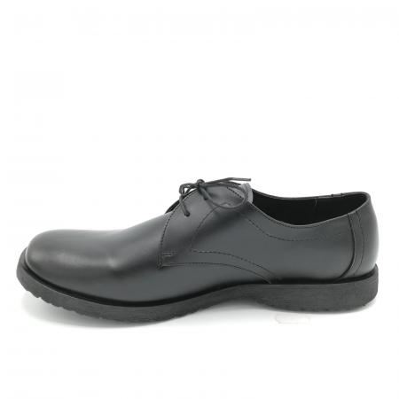 Pantofi din piele Oxford Pax Black1