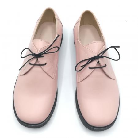Pantofi din piele Oxford Pax Nude2