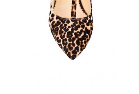Pantofi Mihai Albu din piele Stealth T Animal Print
