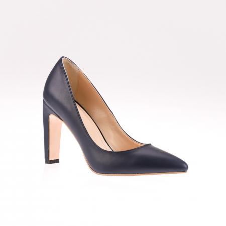 Pantofi stiletto din piele naturala Black Box1