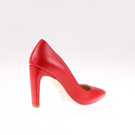 Pantofi stiletto din piele naturala Red Box2