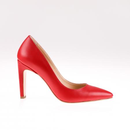 Pantofi stiletto din piele naturala Red Box0