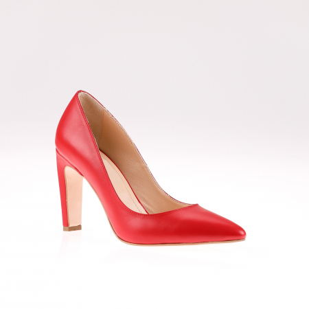 Pantofi stiletto din piele naturala Red Box1