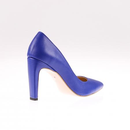 Pantofi stiletto din piele naturala Blue Box1