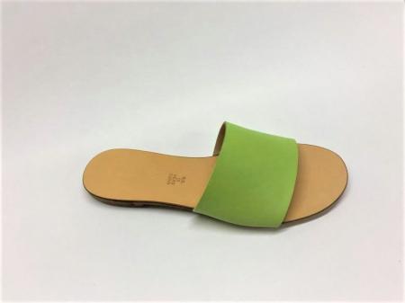 Papuci de dama din piele Elisa Green