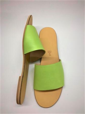 Papuci de dama din piele Elisa Green, 38 [2]