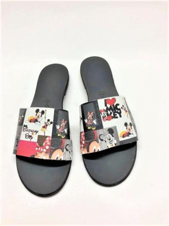 Papuci de dama din piele Elisa Disney World0