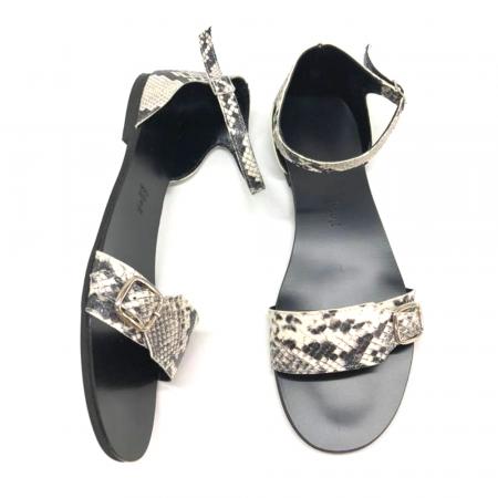 Sandale dama din piele Ada Snake Print2