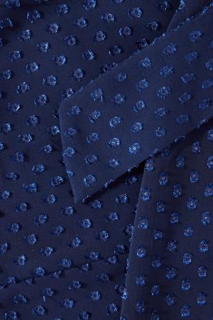 Rochie eleganta cu maneci lungi si volane Quiz Blue [5]
