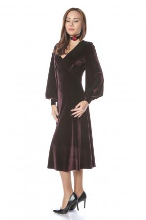 Rochie eleganta din catifea Katia1