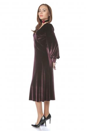 Rochie eleganta din catifea Katia2