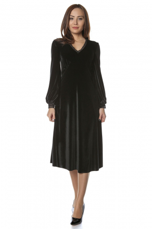 Rochie eleganta din catifea Mia2