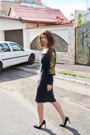 Rochie eleganta din catifea Tess3