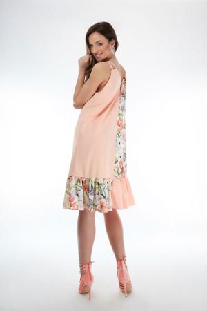Rochie lejera din voal Magnolia Blooms