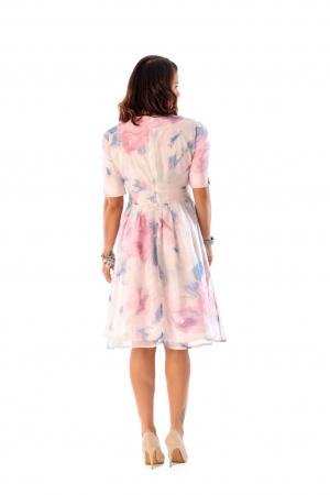 Rochie eleganta din organza cu imprimeu floral, You [3]